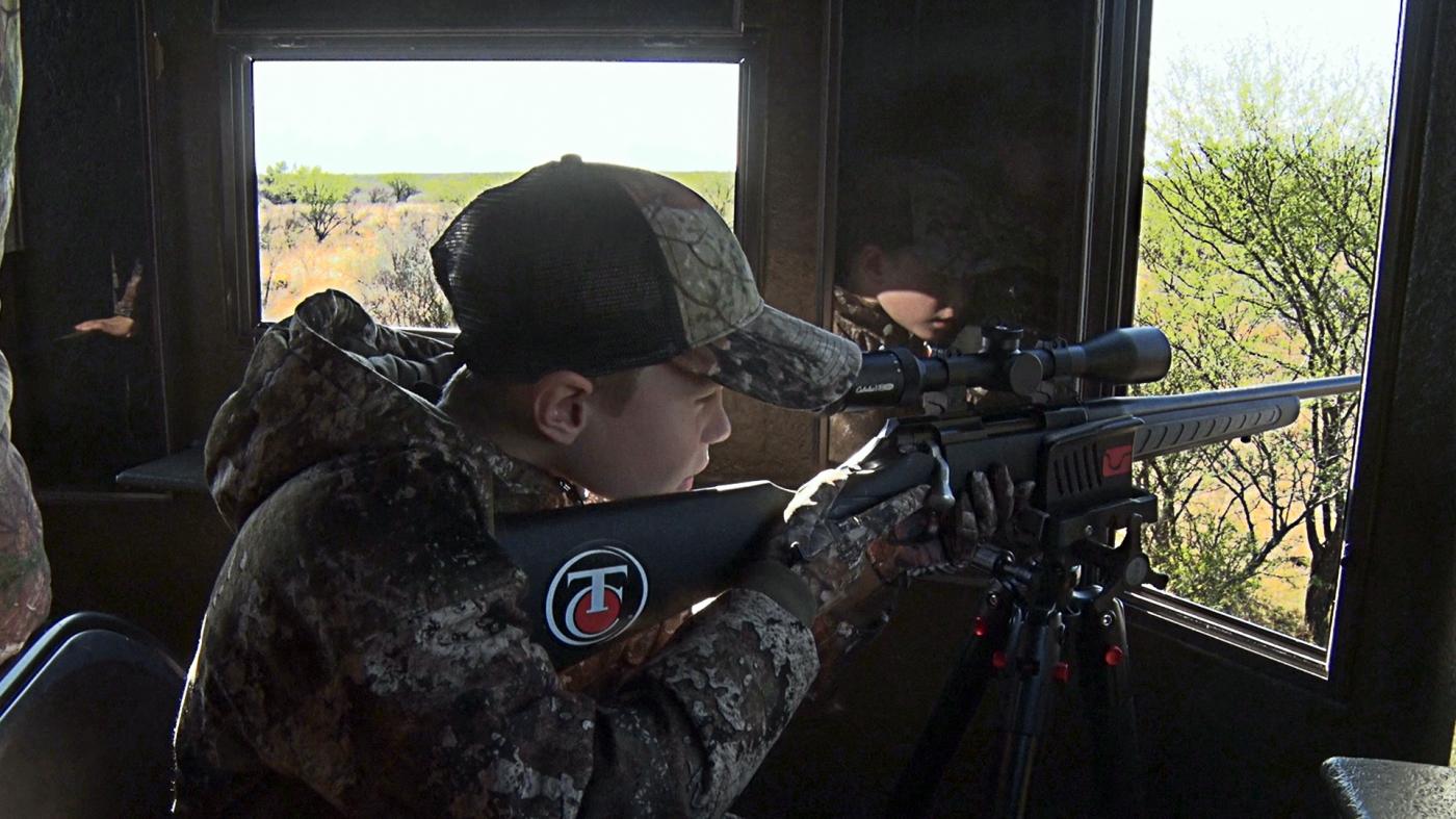 Youth Hunter Aiming Rifle